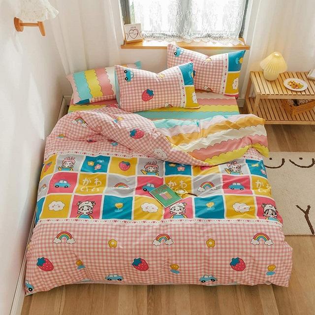 Funda nórdico patchwork infantil wakaii